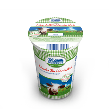 Land-Buttermilch Natur